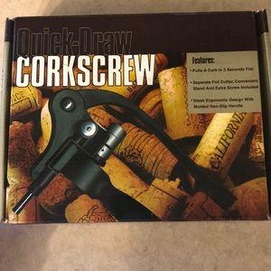 Quick-draw Corkscrew